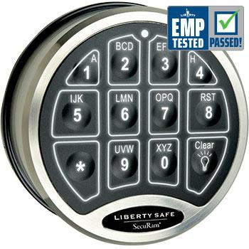 Accessory - Electronic Lock - BackLit - Chrome