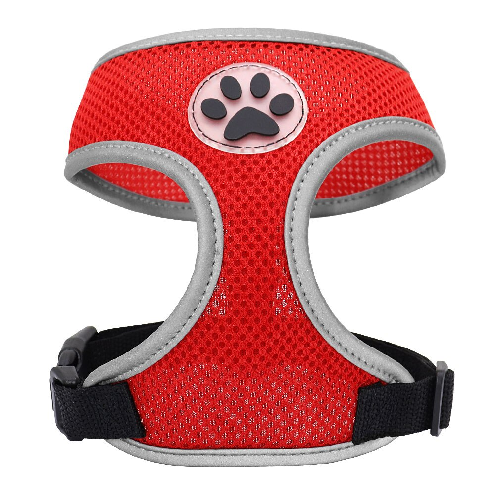 Breathable Nylon Cat Harness Reflective Dog Pet Harness for Small Medium Dogs Pet Puppy Harnesses for Chihuahua Yorkshire - HiPawsy