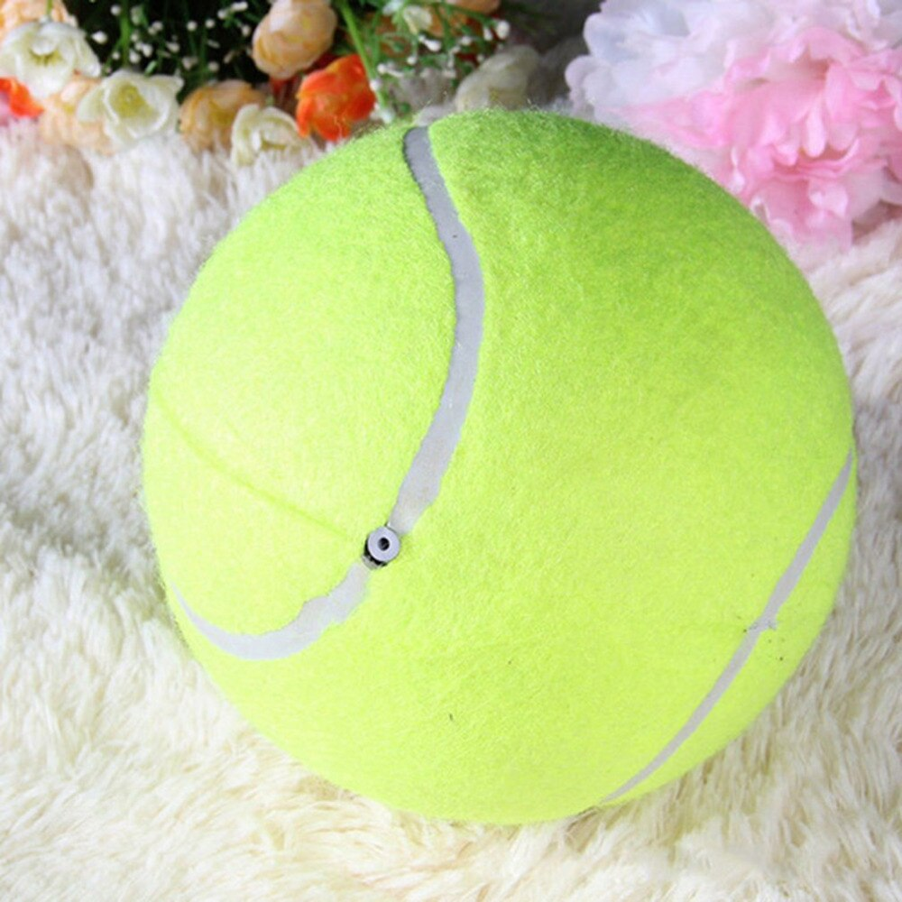 24cm/9.5 Inch Tennis Ball Giant Pet Toy Tennis Ball Dog Chew Toy Signature Mega Jumbo Kids Ball For Pet Dog's Supplies Hot Sale - HiPawsy