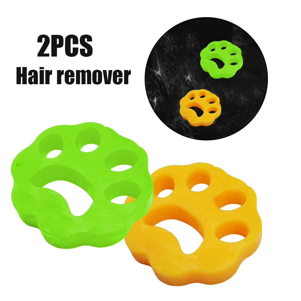 2pcs Pet Hair Catcher Cat Dog Fur Lint Hair Remover Clothes Dryer Washing Machine Accessories Reusable Cleaning Laundry Catcher - HiPawsy