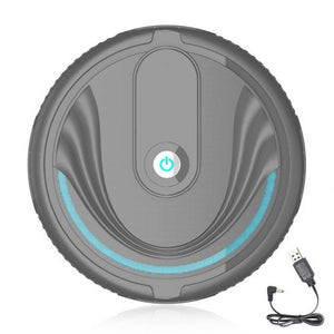 1Pc Portable Household Automatic Efficient Smart Clean Robot Vacuum Cleaner Floor Sweeping Dust Remover Easy to Use - HiPawsy