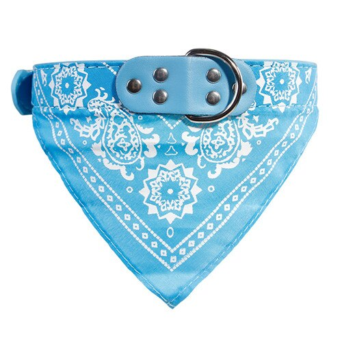 Floral Neckerchief Collar - HiPawsy
