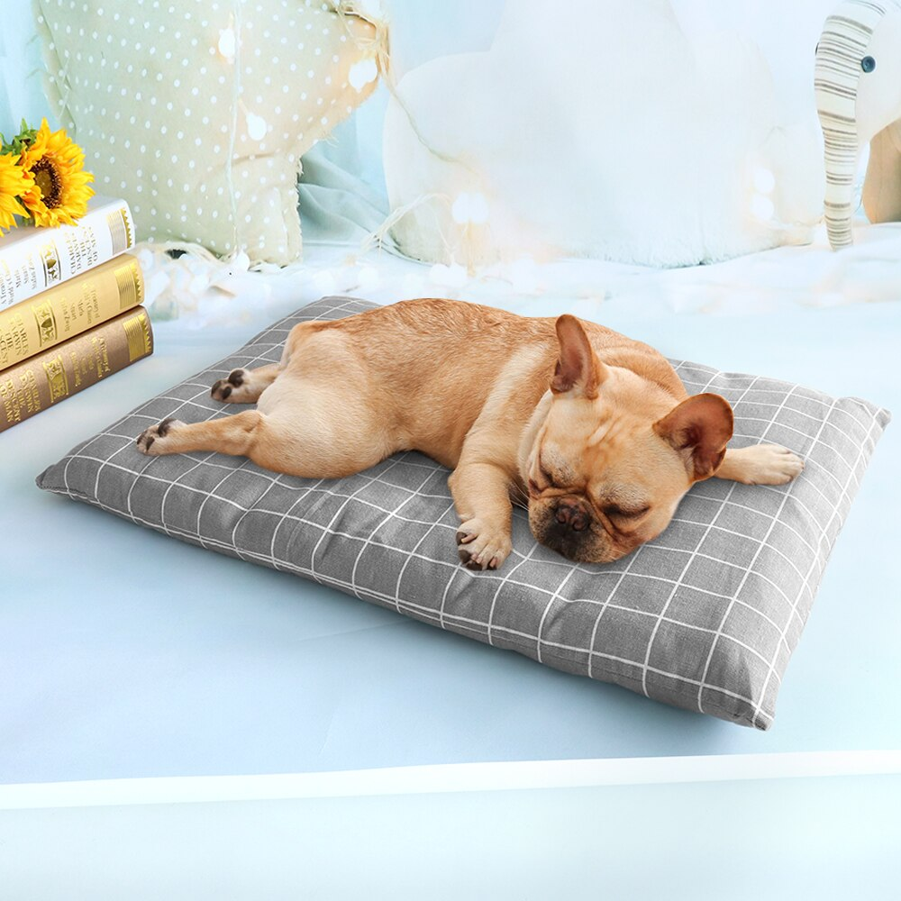 Winter Dog Bed House Soft Pet Dog Beds Mat Warm Sofa Pets Cushion Mattress For Small Medium Large Dogs Cats Chihuahua Cama Perro - HiPawsy