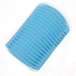 Pet cat Self Groomer Grooming Tool Hair Removal Brush Comb for Dogs Cats Hair Shedding Trimming Cat Massage Device with catnip - HiPawsy