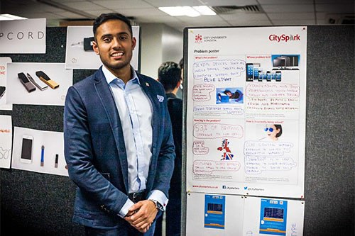 Dhruvin Patel, blue light screen protector founder