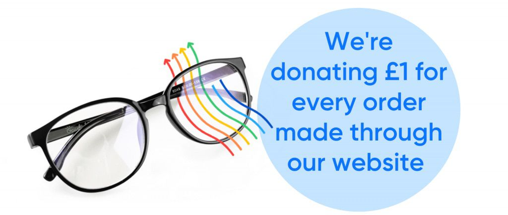 We're donating £1 for every order made through our website