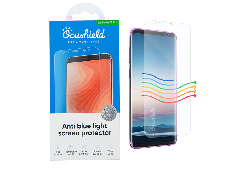 Anti blue light screen protector for Samsung