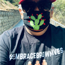 Load image into Gallery viewer, FRANK CARBAJAL WEARING #EMBRACEBROWNLIVES TEE