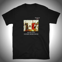 Load image into Gallery viewer, CHICANO MORATORIUM - MEXICAN FLAG BLACK TEE