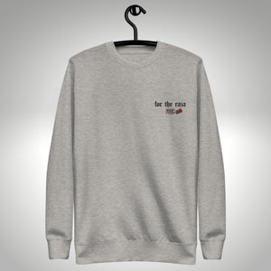For The Raza Embroidered Crew Neck Sweatshirt