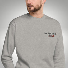 Load image into Gallery viewer, For The Raza Embroidered Crew Neck Sweatshirt