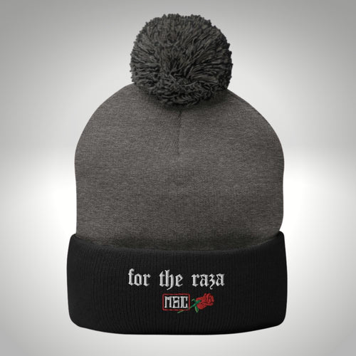 FOR THE RAZA EMBROIDERED BEANIE
