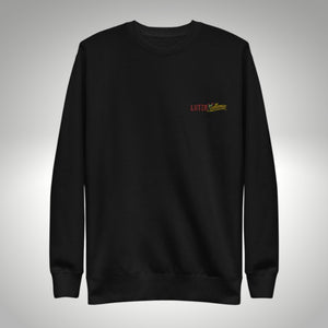 LatinXcellence Embroidered Crew Neck - Black