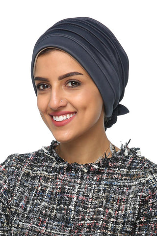 Lycra Fitted Pleat Turban - Old Navy - Gingerlining