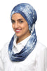 3 Layers Turban - Denim / White - Gingerlining (476282748966)