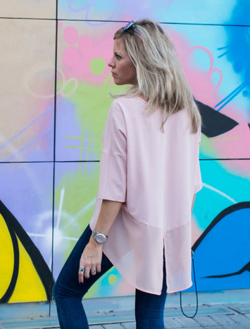 Fun Basic Top – Pink - Gingerlining