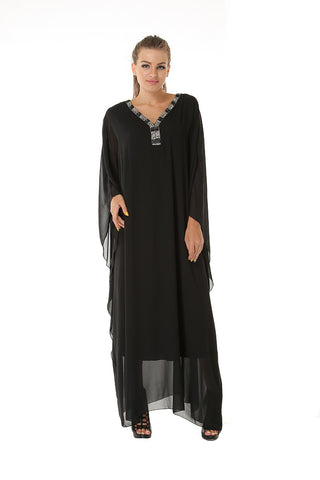 Kaftan Queen- Black - Gingerlining