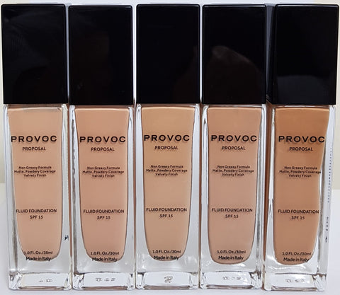 PROVOC  Proposal Foundation - Fair Skin - Gingerlining