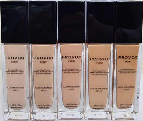 PROVOC Proxy Foundation - High Coverage - Gingerlining