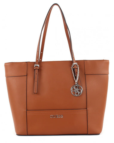 GUESS Delaney Medium Classic Tote - Gingerlining