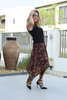 Jamila Skirt - Red Camo (6069117517998)