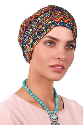 Lycra Tab Turban - Rastafari - Gingerlining