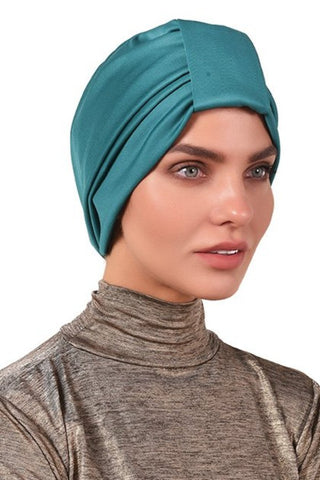 Lycra Tab Turban - Jade - Gingerlining (723067994156)