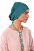 Lycra Fan Turban - Jade - Gingerlining