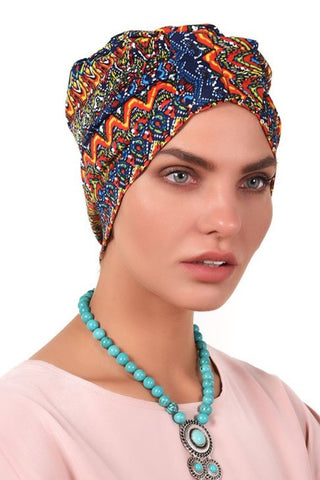 Lycra Fan Turban - Rastafari - Gingerlining