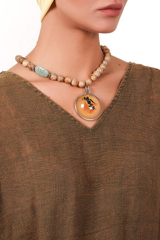Oriental Vibe Necklace - Gingerlining