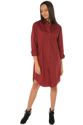 Boxy Y-Shirt Shirt / Dress - Gingerlining