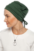 Simple Drape Tie Turban - Leaf Green