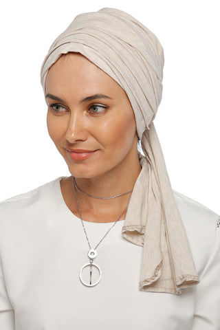 Multi-way Wrap Turban - Vanilla