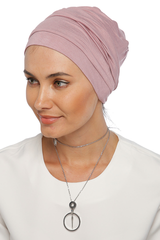 Simple Drape Turban - Powder Pink