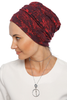Simple Drape Turban - Remix (Red/Black)