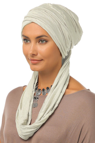 3 Layers Turban - Cream - Gingerlining
