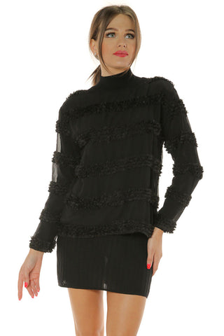 Long Sleeve Tee- Black - Gingerlining (8335364945)