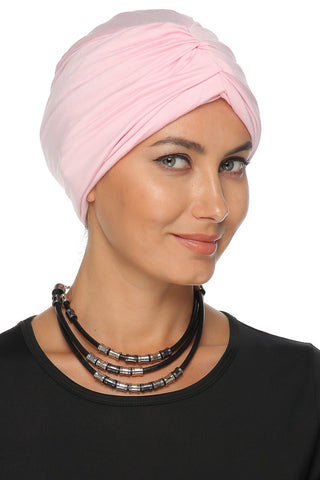 Simple Drape Turban - Baby Pink - Gingerlining