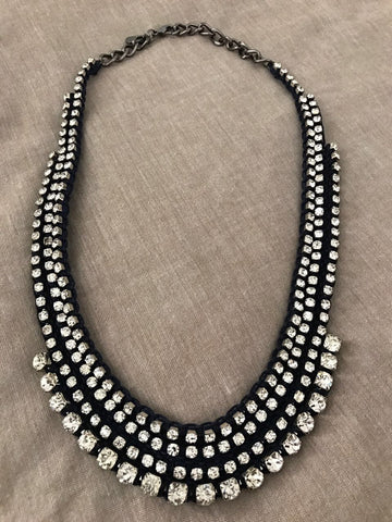 Dazzling Stone Studded Necklace - Gingerlining (9954889553)
