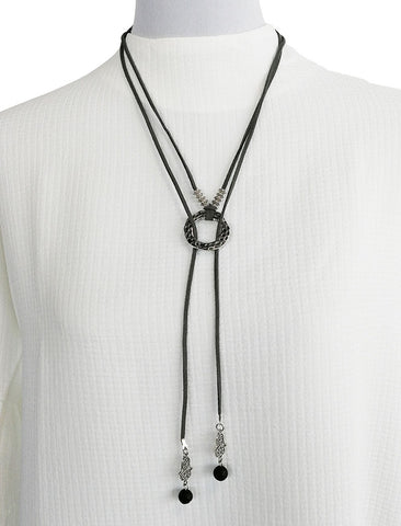 Friday Brunch Necklace - Black