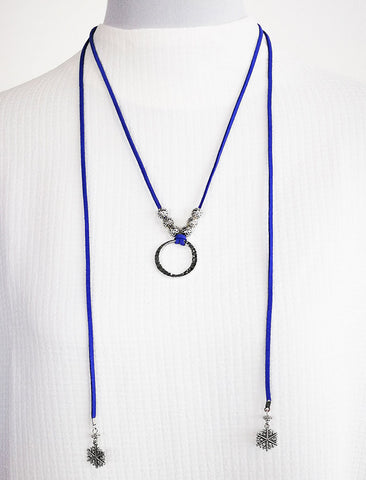 Friday Brunch Necklace - Blue