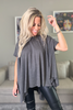 Short Sleeves Poncho Top (5834677420186)