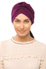 Multi-way Wrap Turban -  Dark Plum - Gingerlining (367399403558)