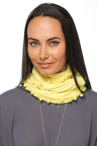 Loopy Scarf - Yellow - Gingerlining