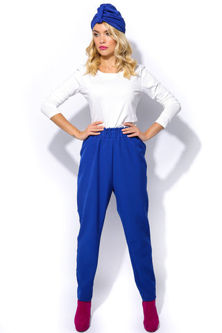 Feya Trousers- Blue