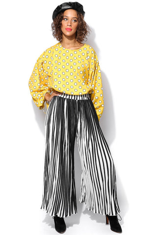 Lea Pleated Trousers