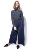 Shimmer Knit Trousers - Blue - Gingerlining