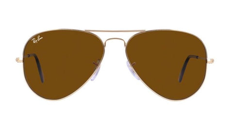 Ray Ban Unisex Aviator Large Metal Sunglasses RB 3025 001733 55 14 3N - Gingerlining