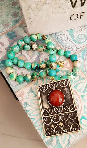 Imperial Jade Necklace