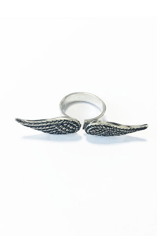 Angel Wings Ring – 925 Egyptian sterling Silver - Gingerlining